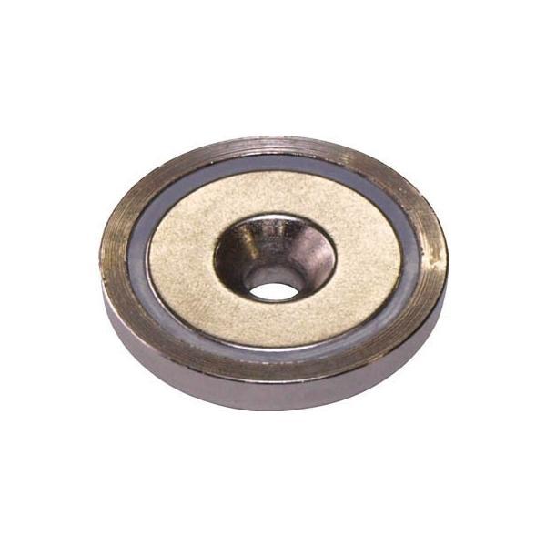 マグナ ネオジ磁石プレートキャッチ 皿穴タイプ 1-NCC36RA マグネット用品・マグネット素材