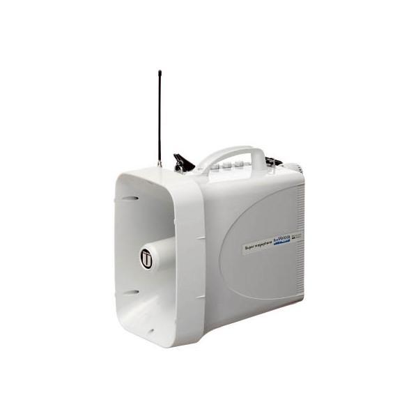 ユニペックス 30W 防滴スーパーワイヤレスメガホン レインボイサー TWB-300 安全用品・標識・拡声器  代引不可