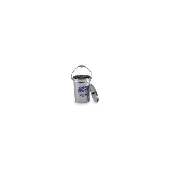 テラモト ステンすいがら収集缶 SU-267-200-0 清掃用品・灰皿