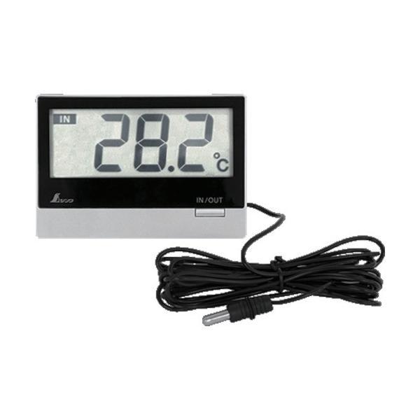シンワ デジタル温度計 Smart B 室内・室外 防水外部センサー 73117