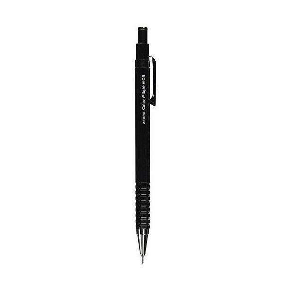 ゼブラ シャープペン カラーフライト 0.3 MAS53-BK 黒