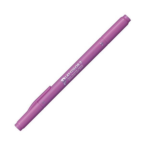 トンボ 水性ペン プレイカラー2 WS-TP56 きょう紫