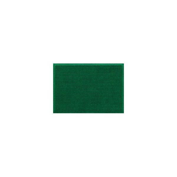 クリーンテックス・ジャパン 玄関マット ウォーターホースT W88×D62 グリーン 1枚 〔業務用〕