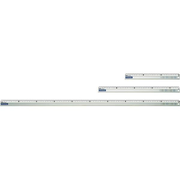 アルミカッティング定規 目盛100cm AL-100