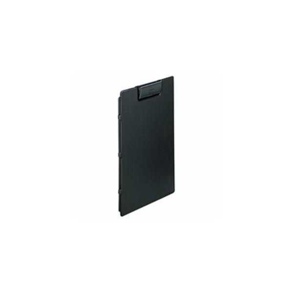 (業務用5セット)LIHITLAB クリップファイル/バインダー 〔A4 ヨコ型〕 F-2650-24 黒