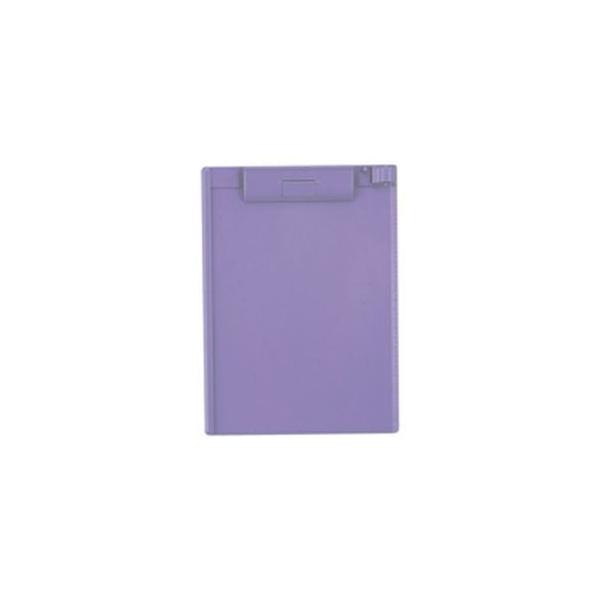 (業務用10セット)LIHITLAB クリップボード/バインダー A-972U-23 B5E 青紫