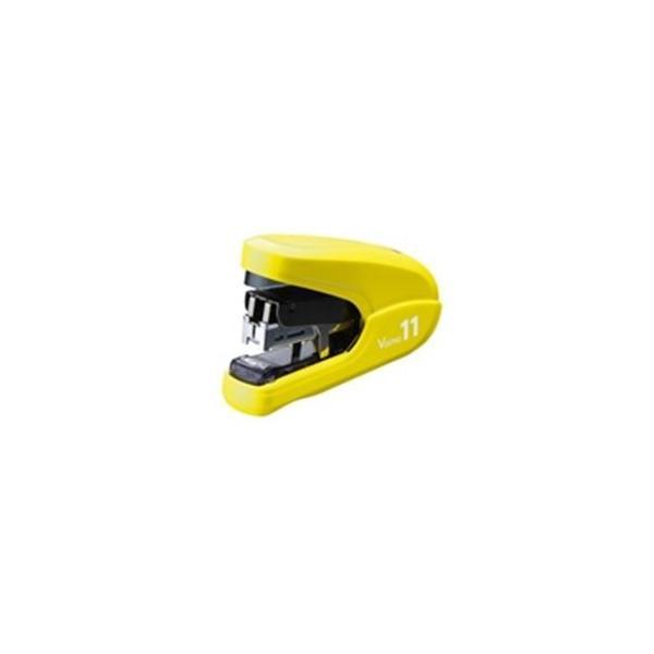 (業務用3セット)マックス ホッチキスバイモ11 HD-11FLK/Y 黄 HD90303