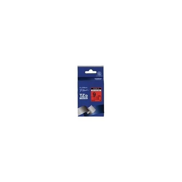 (業務用3セット) brother ブラザー工業 文字テープ/ラベルプリンター用テープ 〔幅:9mm〕 TZe-421 赤に黒文字