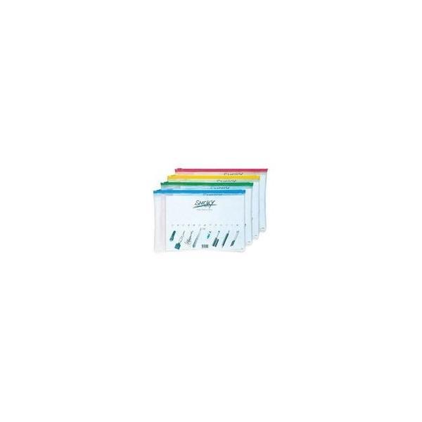 (業務用10セット) LIHITLAB クリアケース/書類入れ 〔A4サイズ/マチなし〕 ビニール製 半透明 横型 F-267 水