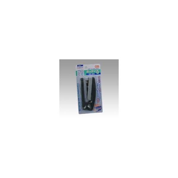 (業務用セット) マックス タテ・ヨコホッチキス HD-10V ダークグレー 1個入 〔×10セット〕