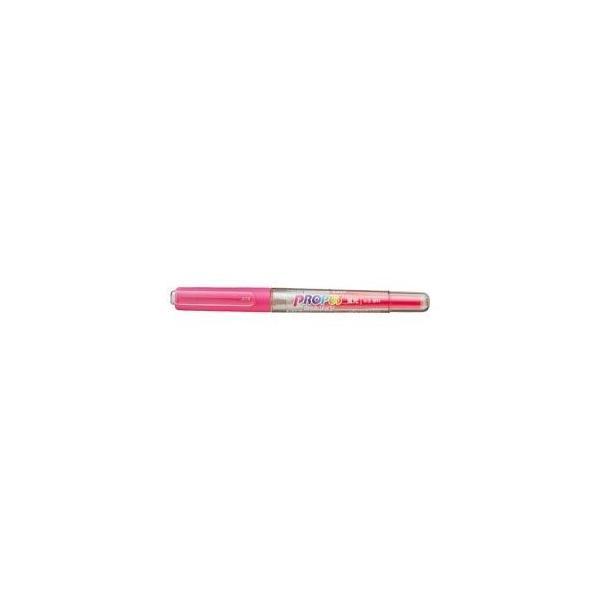 (業務用セット) 三菱鉛筆 プロパス・カートリッジ 蛍光ペン PUS-155.13 桃 1本入 〔×30セット〕