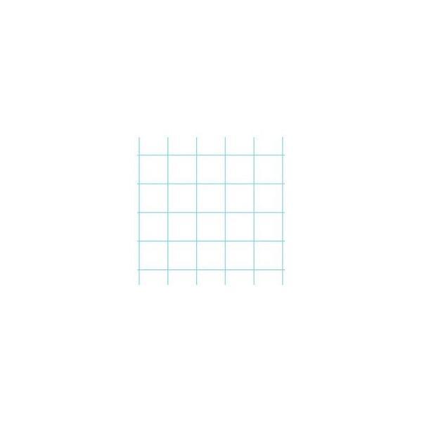 (まとめ) オキナ プロジェクトペーパー B5 5mm方眼 PPB55S 1冊 〔×15セット〕