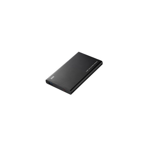 (まとめ)サンワサプライ USB3.0対応2.5インチハードディスクケース(SATA用) TK-RF253SAUL〔×2セット〕