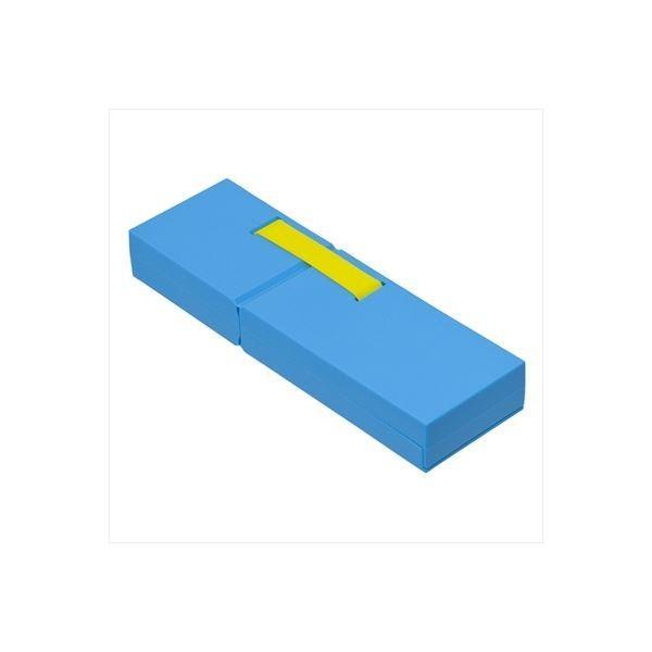(業務用セット)ナカバヤシ ディスプレイペンケース Mサイズ ブルー PCN-DP02 BL〔×3セット〕