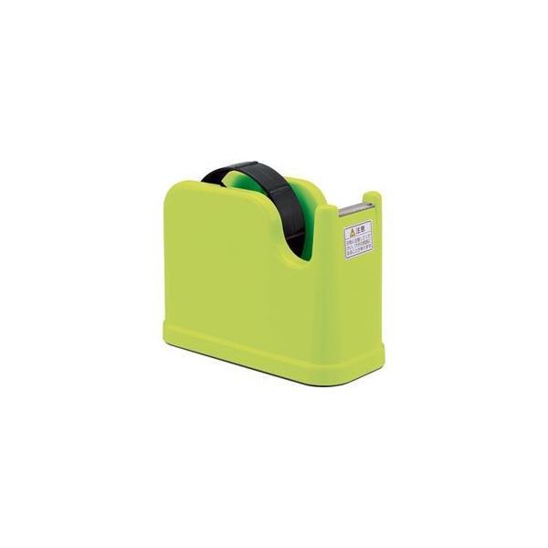 (業務用セット) テープカッター グリーン NTC-201G 〔×10セット〕