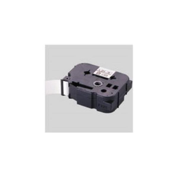 (業務用30セット) マックス 強粘着テープ LM-L536BWK 白に黒文字 36mm