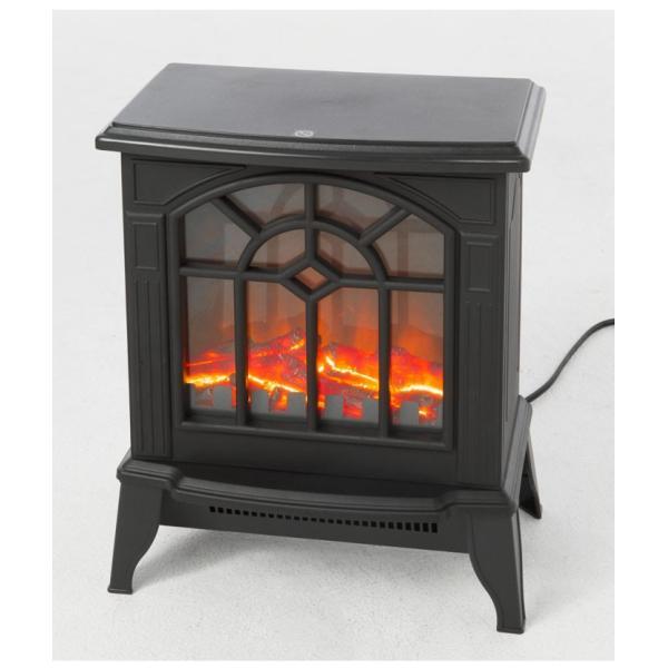 ベルソス VERSOS VS-HF3201 暖炉型ファンヒーター 安全装置付き セラミックヒーター ブラック