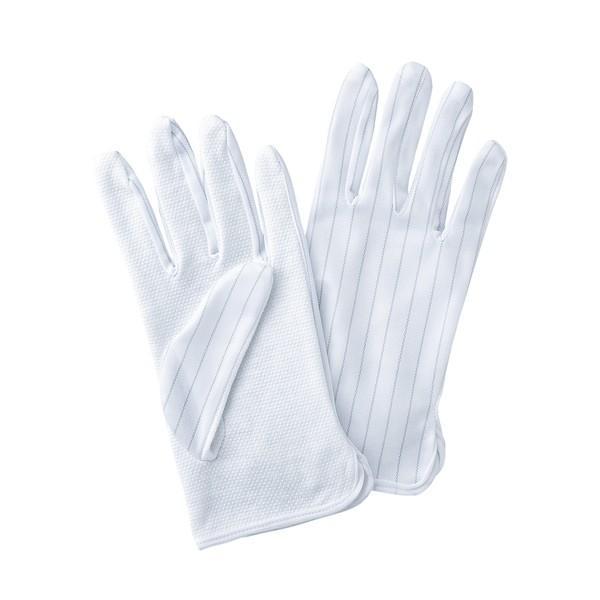 サンワサプライ 静電気防止手袋 滑り止め付き TK-SE12L 代引不可