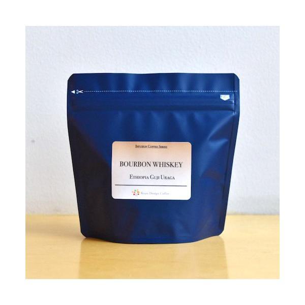自家焙煎 コーヒー豆 バーボンウイスキー・エチオピア イルガチェフェ 100g|rdc