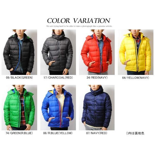 ダウンジャケット 高密度タフタ ファイバーダウンジャケット メンズ ブラック ブルー アウター 冬物|re-ap|02