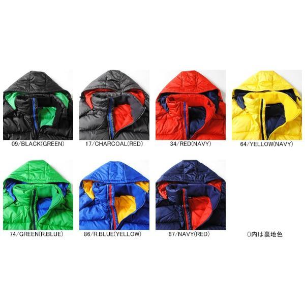 ダウンジャケット 高密度タフタ ファイバーダウンジャケット メンズ ブラック ブルー アウター 冬物|re-ap|03