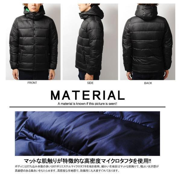 ダウンジャケット 高密度タフタ ファイバーダウンジャケット メンズ ブラック ブルー アウター 冬物|re-ap|05