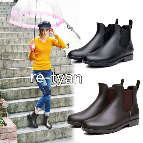 レインシューズレインブーツレディースショート長靴雨梅雨対策おしゃれ通勤防寒人気スルジョーレインシューズ雨靴防水サイドゴアガーデニ