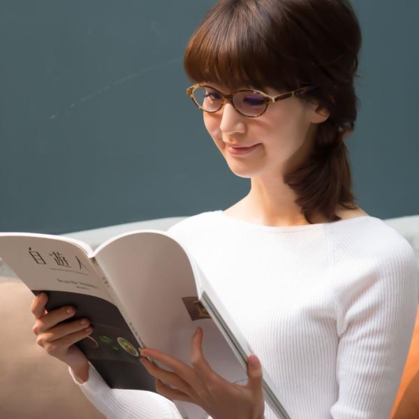老眼鏡 ブルーライトカット リーディンググラス おしゃれシニアグラス 女性用 レディース 高級アセテート使用 オーバルモデル(M-110)ケース付|readingglasses|15