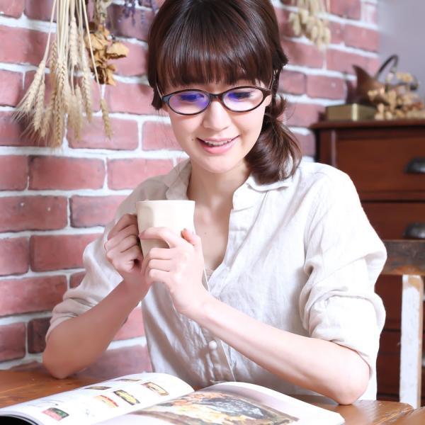 老眼鏡 ブルーライトカット リーディンググラス おしゃれシニアグラス 女性用 レディース 高級アセテート使用 オーバルモデル(M-110)ケース付|readingglasses|16