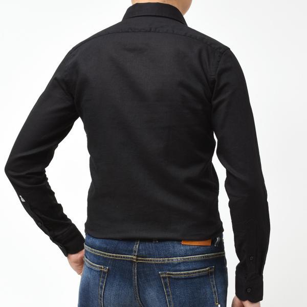 GUY ROVER ギローバー リネン コットン ソリッド イタリアンカラーシャツ|realclothing|13