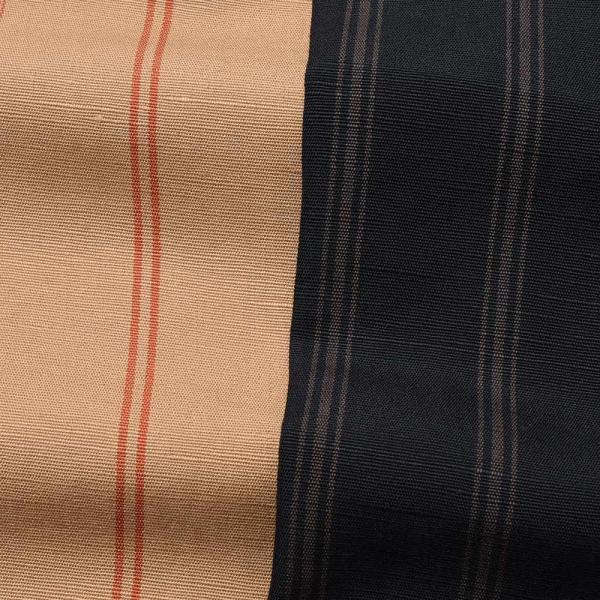 Massimo d'Augusto マッシモ ダウグスト LEO コットン リネン ストライプ イタリアンカラー ショートスリーブ シャツ|realclothing|10