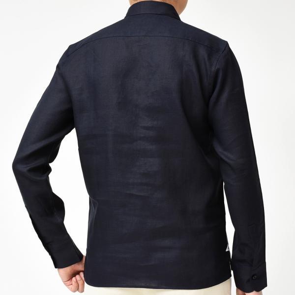 Massimo d'Augusto(マッシモ ダウグスト)ALAMARI リネン カプリシャツ realclothing 11