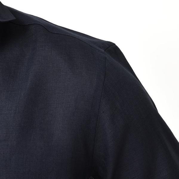 Massimo d'Augusto(マッシモ ダウグスト)ALAMARI リネン カプリシャツ realclothing 13