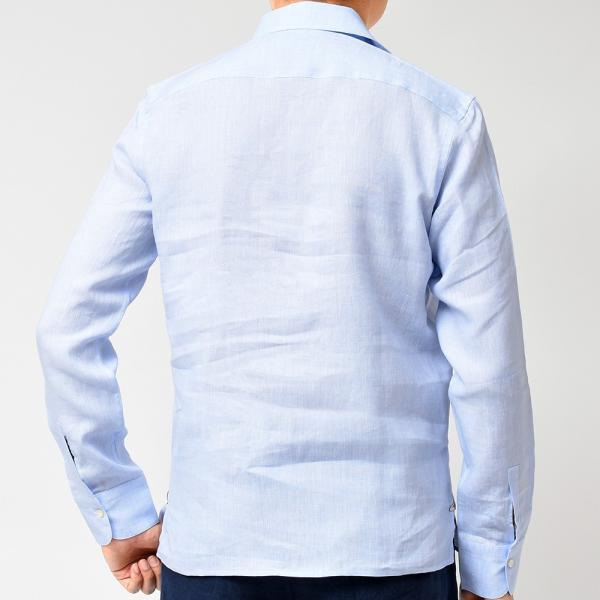 Massimo d'Augusto(マッシモ ダウグスト)ALAMARI リネン カプリシャツ realclothing 05