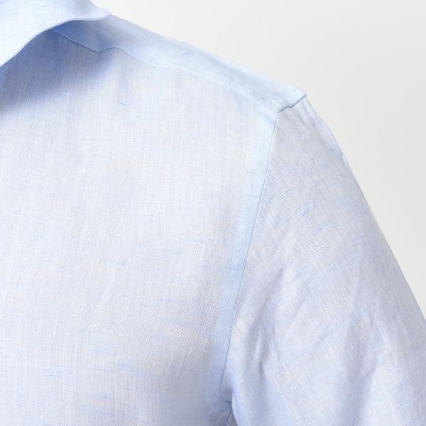 Massimo d'Augusto(マッシモ ダウグスト)ALAMARI リネン カプリシャツ realclothing 07