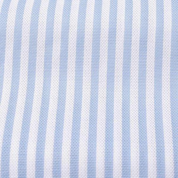 GUY ROVER(ギローバー)コットン メッシュ ストライプ ワイドカラーシャツ realclothing 02