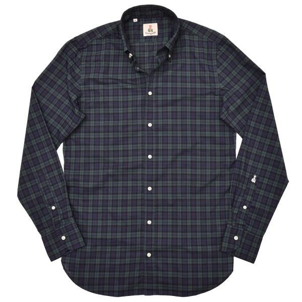 GUY ROVER(ギローバー)コットン タータンチェック ボタンダウンカラーシャツ realclothing