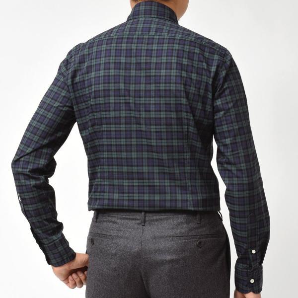 GUY ROVER(ギローバー)コットン タータンチェック ボタンダウンカラーシャツ realclothing 04