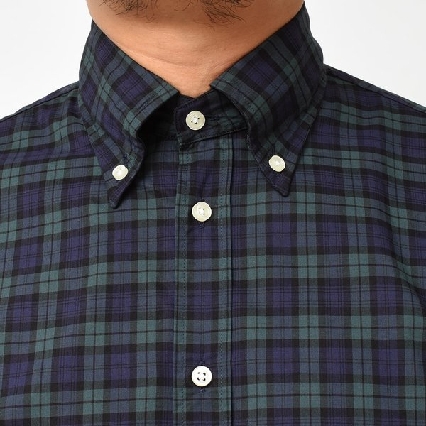 GUY ROVER(ギローバー)コットン タータンチェック ボタンダウンカラーシャツ realclothing 05