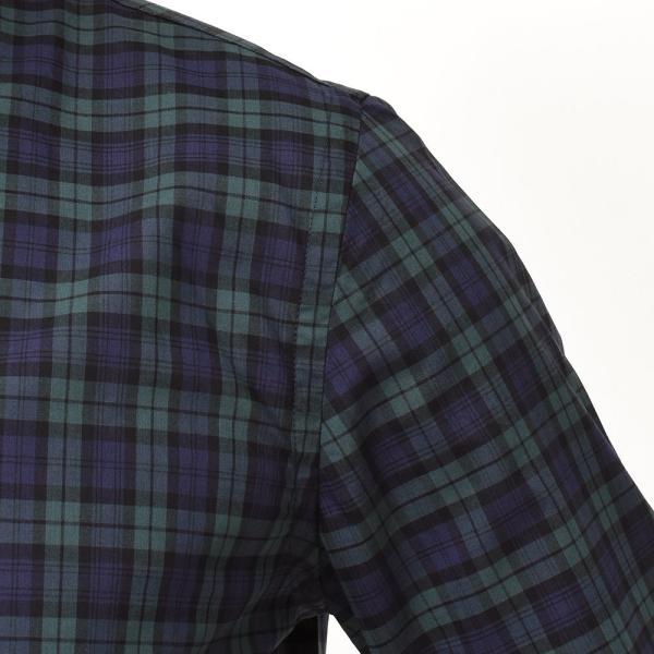 GUY ROVER(ギローバー)コットン タータンチェック ボタンダウンカラーシャツ realclothing 06