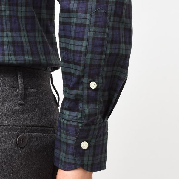 GUY ROVER(ギローバー)コットン タータンチェック ボタンダウンカラーシャツ realclothing 07