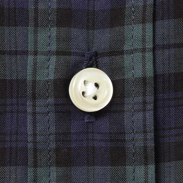 GUY ROVER(ギローバー)コットン タータンチェック ボタンダウンカラーシャツ realclothing 08