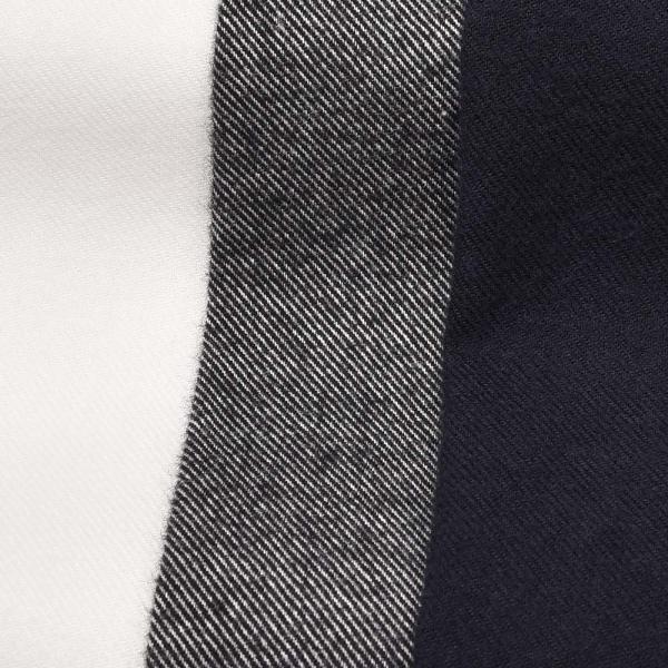 GUY ROVER(ギローバー)コットン ライトフランネル ワイドカラーシャツ|realclothing|02