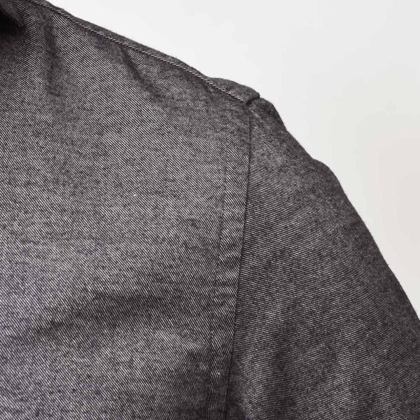 GUY ROVER(ギローバー)コットン ライトフランネル ワイドカラーシャツ|realclothing|06