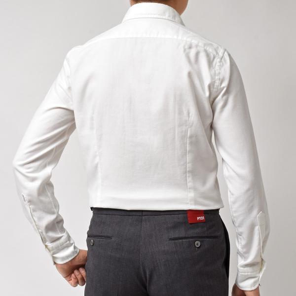GUY ROVER(ギローバー)コットン ライトフランネル ワイドカラーシャツ|realclothing|10