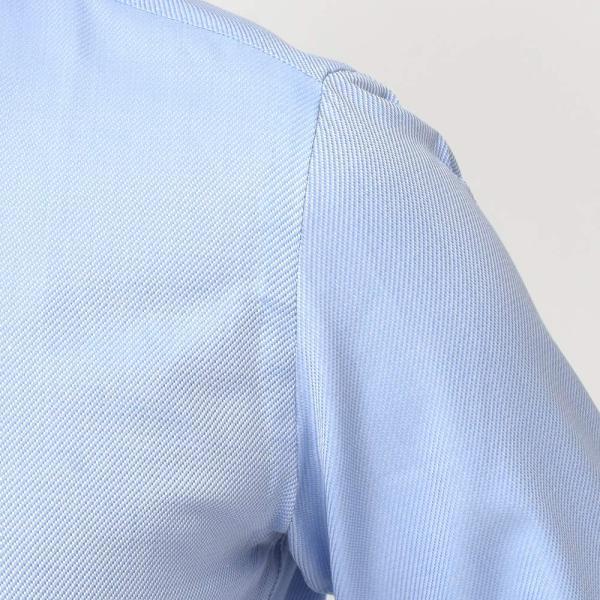 Stile Latino(スティレ ラティーノ)コットン ジャガード ワイドカラー ドレスシャツ|realclothing|06