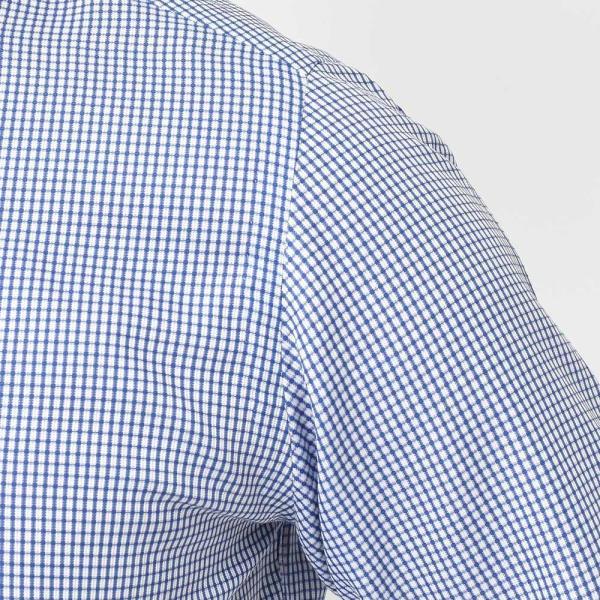 Stile Latino(スティレ ラティーノ)コットン ジャガード チェック ワイドカラー ドレスシャツ◇ realclothing 06
