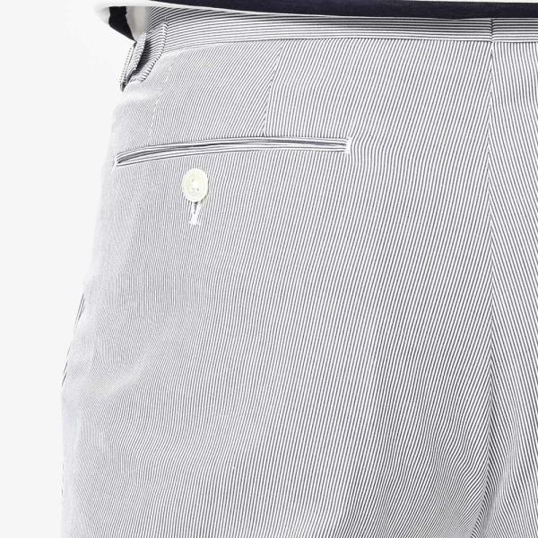 RING JACKET(リングヂャケット)コットン ストレッチ コードレーン サイドアジャスター 2プリーツ ベルトレスパンツ|realclothing|09