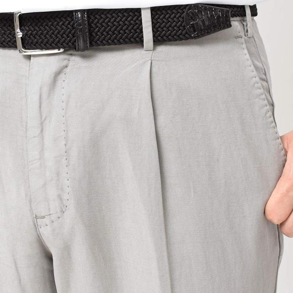 PT01(ピーティーゼロウーノ)COCKTAIL PREMIERE リヨセル リネン コットン 1プリーツ パンツ GENTLEMAN FIT|realclothing|09