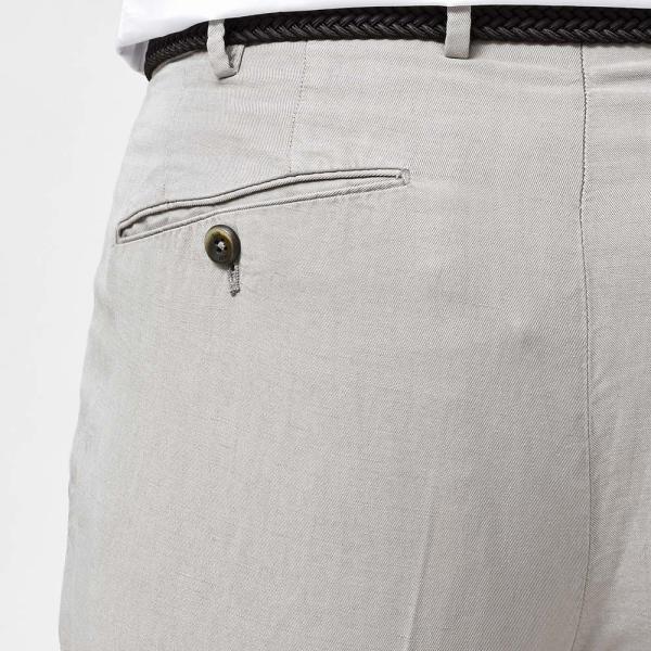 PT01(ピーティーゼロウーノ)COCKTAIL PREMIERE リヨセル リネン コットン 1プリーツ パンツ GENTLEMAN FIT|realclothing|10